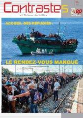Accueil des réfugiés : Le rendez-vous manqué (Contrastes Mars 2016)