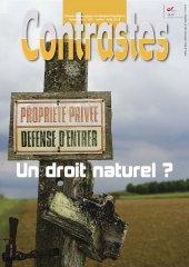 Propriété privée : un droit naturel ? (Juillet 2015)