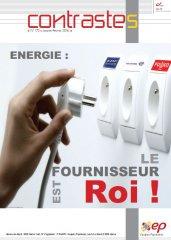 ENERGIE : Le fournisseur est ROI ! (Contrastes, janvier 2016)