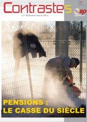 Pensions : Le casse du siècle (Contrastes Mai 2016)