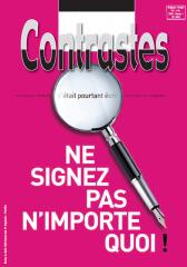 Ne signez pas n'importe quoi ! (Septembre 2014)