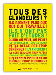 Les Equipes Populaires - Campagne - Tous des glandeurs ?
