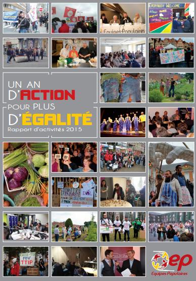 Les Equipes Populaires_rapport d'activité 2015