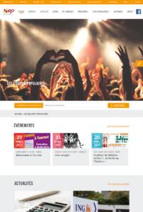 Les Equipes Populaires- nouveau site