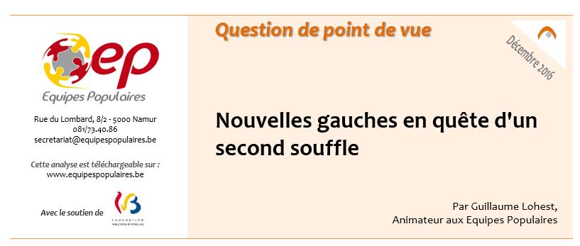 Equipes Populaires- Question de Point de vue