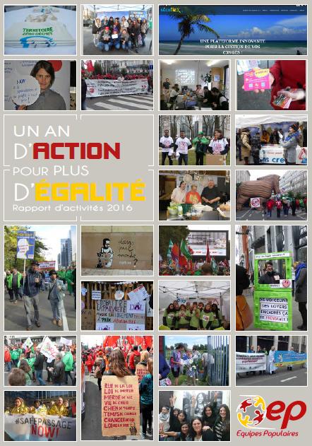 rapport d'activités 2016_ Les Equipes Populaires
