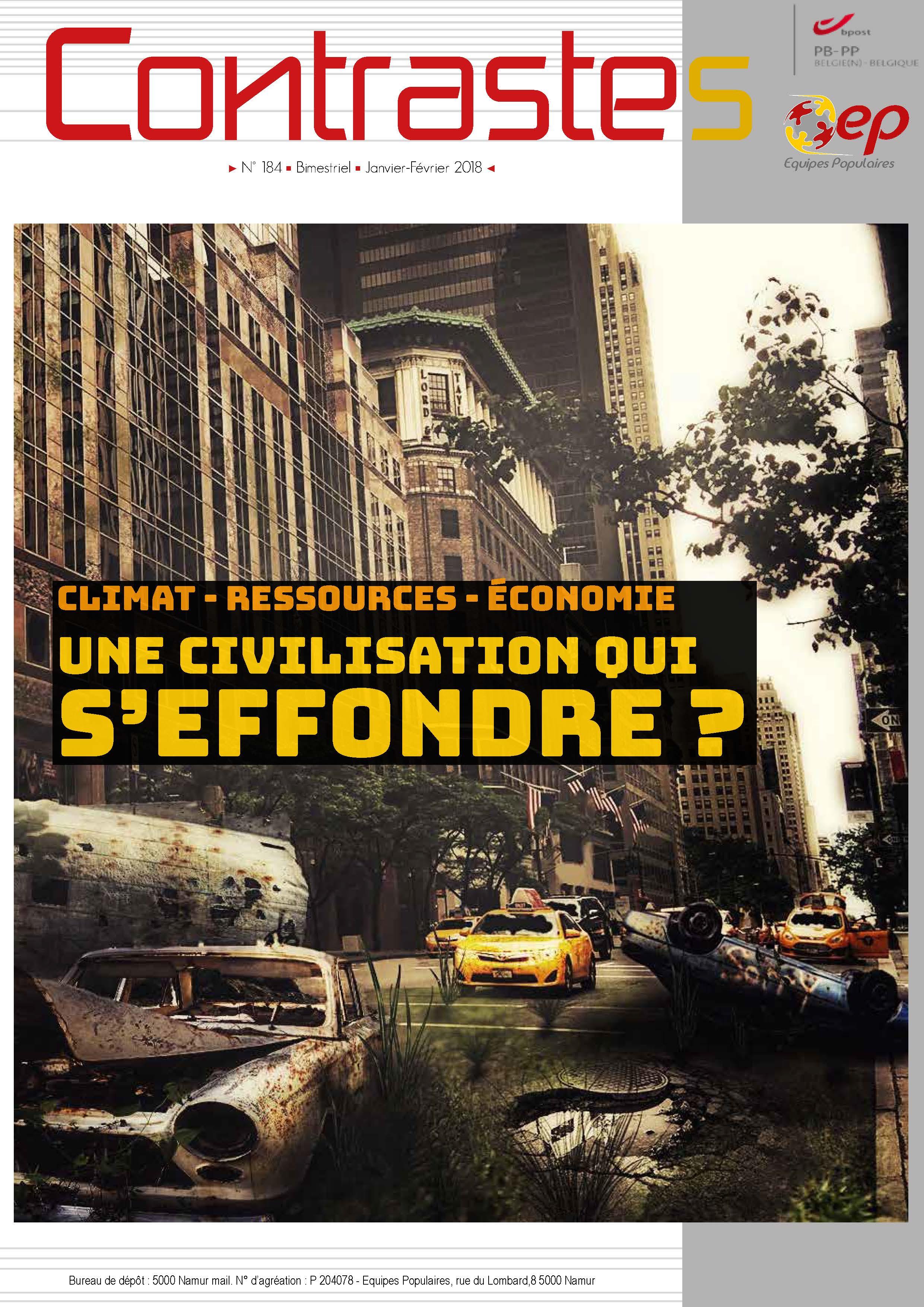 """Contrastes """"Une civilisation qui s'effondre - Les Equipes Populaires"""