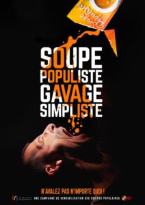 AFFICHE campagne populisme - Equipes Populaires