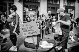 Contrastes féminisme - les équipes populaires