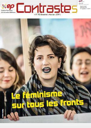 Contrastes féminisme cover_ Les Equipes Populaires